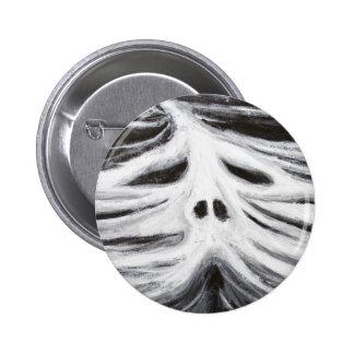 El jefe del leviatán (surrealismo blanco y negro) pin