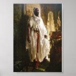 El jefe del Moorish de Eduard Charlemont Posters