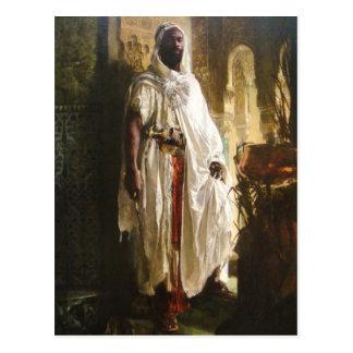El jefe del Moorish Tarjeta Postal
