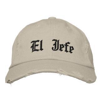 El Jefe Embroidered Baseball Caps
