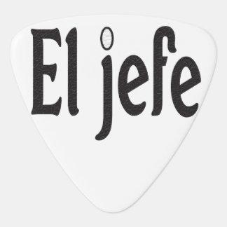 El Jefe Guitar Pick