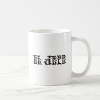 El Jefe logo Liquido Liquid Classic White Coffee Mug