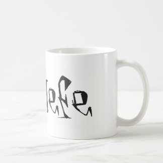 El Jefe logo tuerto funky Coffee Mug