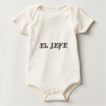 El Jefe logo Vaquero Cowboy Baby Bodysuit