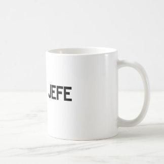El Jefe Classic White Coffee Mug