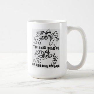 el jefe nos necesita que no necesitamos el jefe taza de café