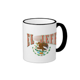 El Jefe Ringer Coffee Mug
