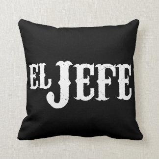 El Jefe Translation The Boss Throw Pillow