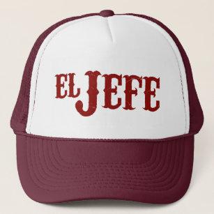 19f711c5e2de2 El Jefe Translation The Boss Trucker Hat