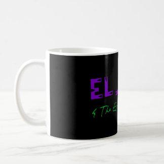 EL Jefe y la taza de café ejecutiva de la mirada