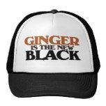El jengibre es el nuevo negro gorros bordados
