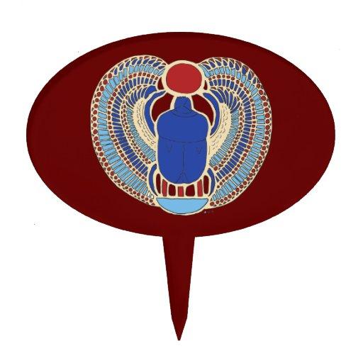El jeroglífico de Tutankhamon Figuras De Tarta