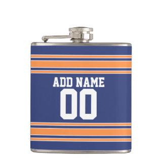 El jersey de equipo raya nombre y número de encarg