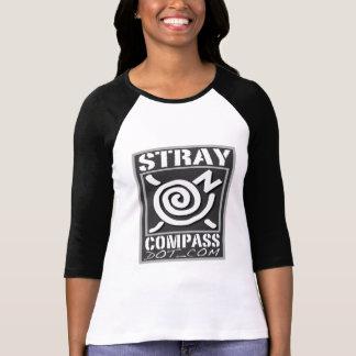 el jersey de las mujeres de StrayCompass.com Camiseta