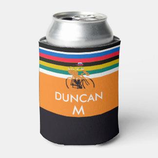 el jersey del merckx del remolino colorea el ciclo enfriador de latas