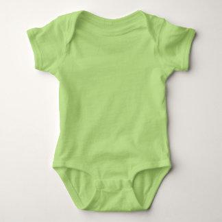 El jersey DIY del mono del bebé añade el txt de la Playeras
