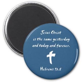 El Jesucristo 13,8 de los hebreos es igual ayer… Iman