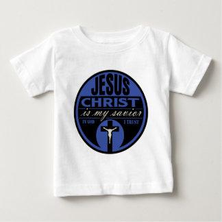 El Jesucristo es mi salvador (azul) Camisas