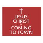 El Jesucristo está viniendo a la ciudad Postal