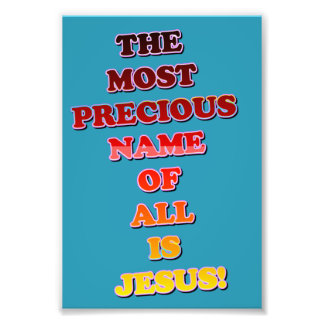 ¡El Jesús conocido es el más precioso de todos