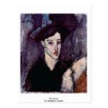 El Jewess de Modigliani Amedeo Tarjetas Postales