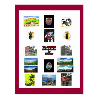 El jGibney del MUSEO 2009 Art1 Brochure1 Tarjetas Postales