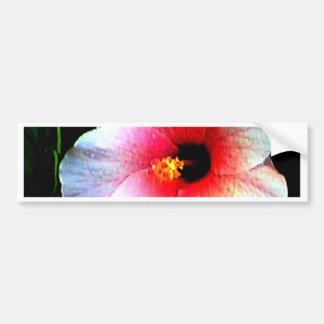 El jGibney Hibiscus72 de la serie de Artitst del M Etiqueta De Parachoque