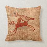 El jinete del caballo almohadas