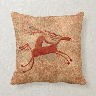 El jinete del caballo cojín