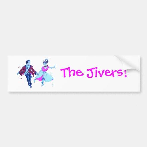 ¡El Jivers! Pegatina Para Auto