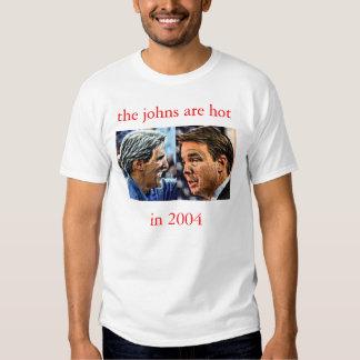 el johns es caliente en '04 camisas