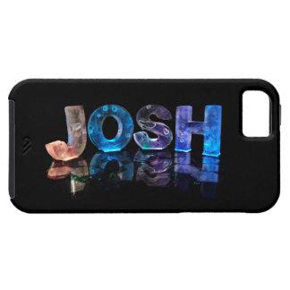 El Josh conocido en 3D se enciende (la fotografía) iPhone 5 Fundas