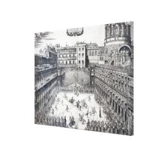 El Jousting, 1565 Impresion En Lona