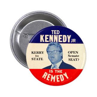 El joven de Ted Kennedy es el remedio Pin