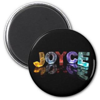 El Joyce conocido en 3D se enciende (la Imán Redondo 5 Cm