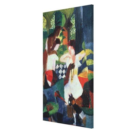 El joyero turco lienzo envuelto para galerias