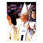 El Juan Pablo II venerable Tarjeta Postal