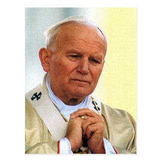 El Juan Pablo II venerable Postal