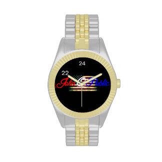 """¡El Juan Q. Public """"22 24"""" reloj del oro!"""