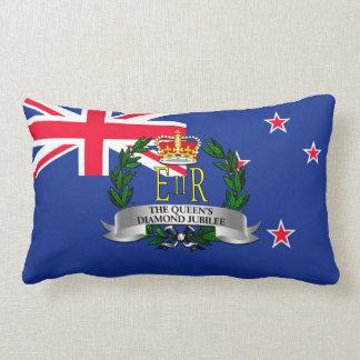 El jubileo del diamante de la reina - Nueva Zeland Almohadas