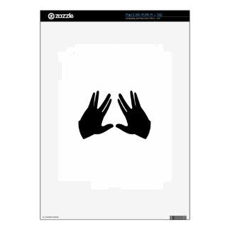 El judaísmo Kohen da símbolo Calcomanías Para El iPad 2