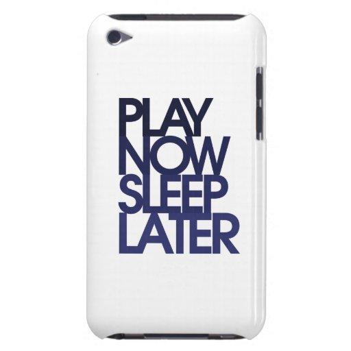 El juego ahora duerme más adelante Case-Mate iPod touch carcasas