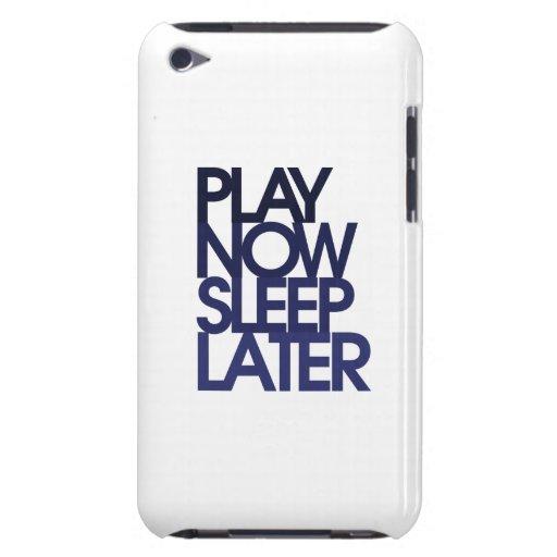 El juego ahora duerme más adelante iPod touch cobertura