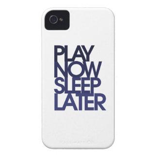 El juego ahora duerme más adelante iPhone 4 cárcasa