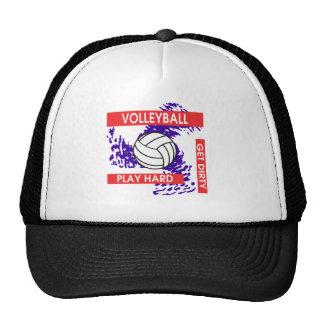 El juego consigue difícilmente voleibol sucio gorros bordados