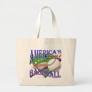 El juego de América del béisbol Bolsas De Mano