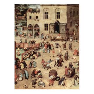 El juego de niño de Pieter Bruegel Postales