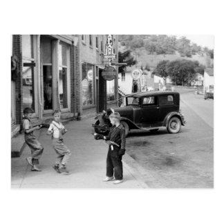 El juego de niño en Wisconsin, los años 30 Postal