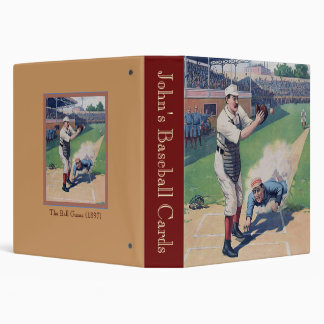 """El juego de pelota (1897) carpeta 1 1/2"""""""