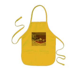 El juego de té - Claude Monet Delantal Infantil